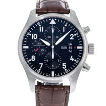 IWC Pilot Chronograph IW3777-01 Very good Steel 43mm Automatic