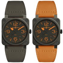 Bell & Ross BR 03-92 Ceramic Keramik 42mm Braun Arabisch
