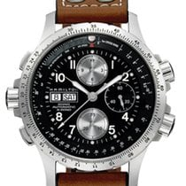 Hamilton H77616533 Steel Khaki X-Wind 44mm new
