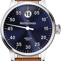 Meistersinger Salthora Meta 43mm Blue Dial - New Model