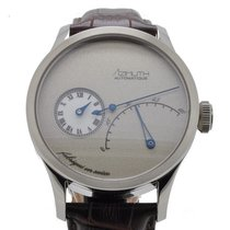 Azimuth Regulateur Retrograde Minutes Frost Grey Watch