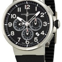Ulysse Nardin Marine Chronograph new Automatic Chronograph Watch with original box and original papers 1503-150-3/62