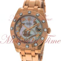 Rolex Lady-Datejust Pearlmaster 81315 gdddr подержанные