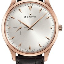 Zenith Elite Ultra Thin Rose gold 40mm Silver United States of America, New York, Airmont