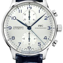 IWC Portuguese Chronograph Steel 40.9mm Silver United States of America, New York, Airmont