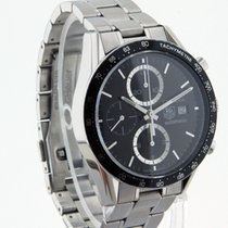TAG Heuer Carrera Calibre 16 Steel 41mm Black No numerals United States of America, Texas, Carrollton