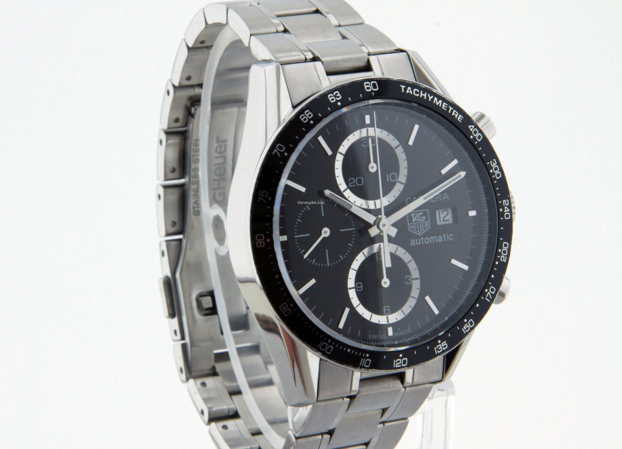 4bea82c6ce TAG Heuer Carrera, Calibre 16 Automatic Chronograph CV2010 for $1,785 for  sale from a Trusted Seller on Chrono24