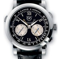 A. Lange & Söhne Double Split Platinum Men's Watch