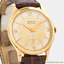 Benrus Yellow gold 33mm Manual winding pre-owned