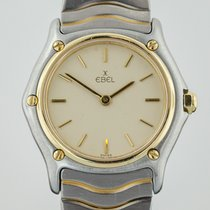 Ebel Classic Wave, Ladies, Stainless Steel and 18k Yellow...
