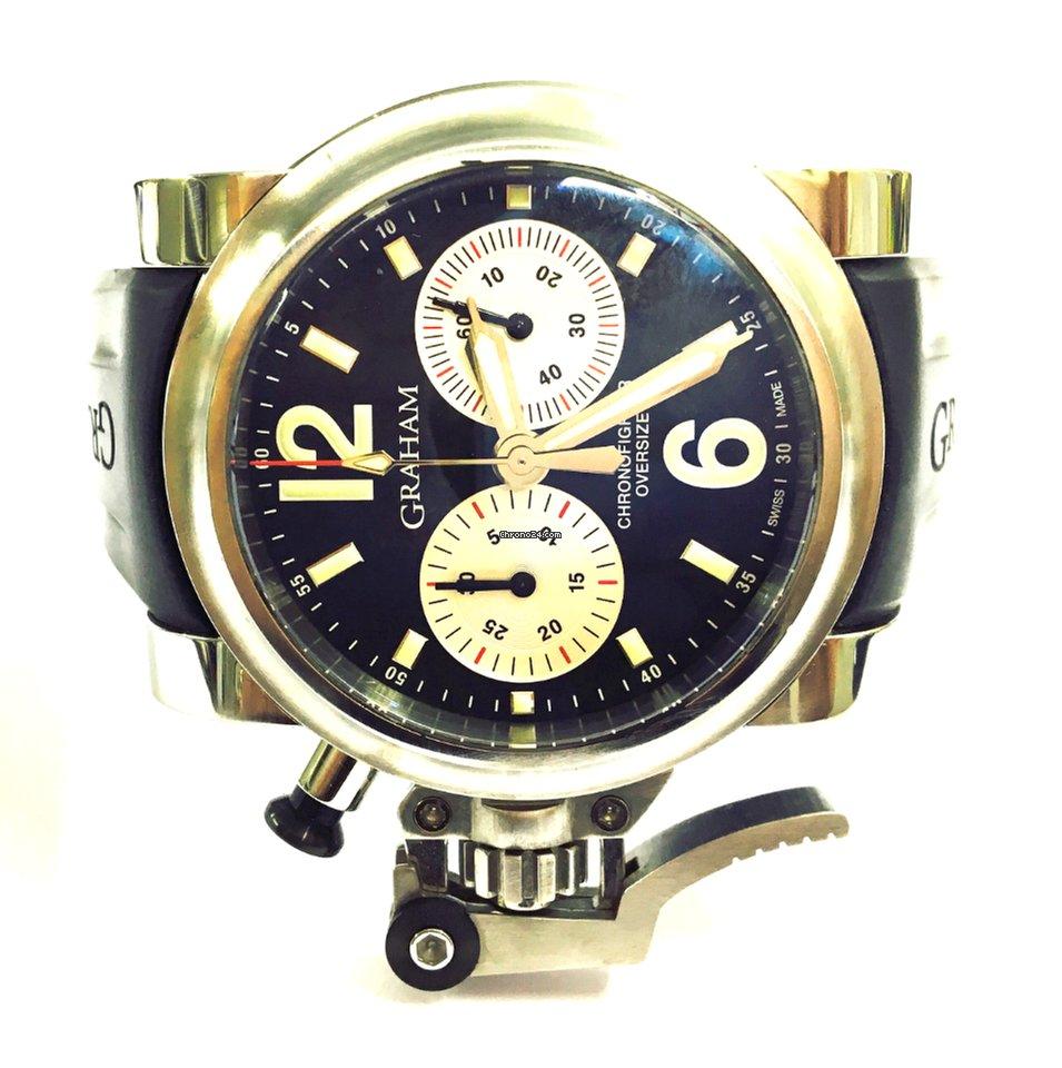 14e2ea51982 Graham Chronofighter - Todos os preços de relógios Graham Chronofighter na  Chrono24