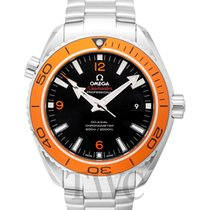 Omega Seamaster Planet Ocean Steel 45.5mm Black