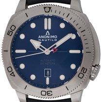 Anonimo new Automatic Rotating Bezel Screw-Down Crown 44.5mm Steel