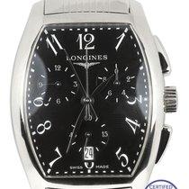 Longines Men's Longines Evidenza Chronograph Black L2.656.4...