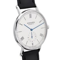 NOMOS Ludwig Automatik Steel 40mm White Roman numerals