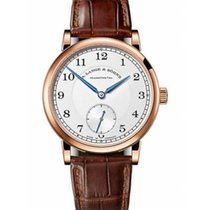A. Lange & Söhne Red gold Manual winding Silver Arabic numerals 38.5mm new 1815