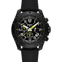 Traser Chronograph 44mm Quartz new Black