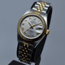 Rolex Χρονόμετρο 26mm Αυτόματη 1999 μεταχειρισμένο Lady-Datejust Ασημί