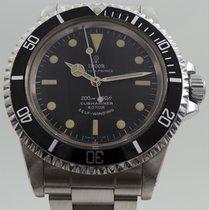 Tudor Submariner 7016/0 S/S Vintage Black Rose Logo Slight Patina