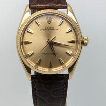 Rolex Oyster Perpetual 34 Or jaune 34mm Or Sans chiffres France, Paris