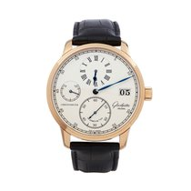 Glashütte Original Senator Chronometer Regulator Rose gold 42mm White Roman numerals