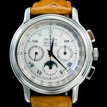 Zenith El Primero Chronomaster occasion 40mm Acier