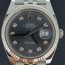 Rolex Datejust (Submodel) tweedehands 41mm Staal