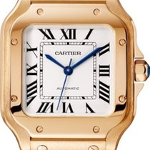 Cartier Santos (submodel) Złoto różowe Srebrny