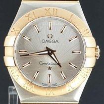Omega Constellation Quartz gebraucht 27mm Gold/Stahl