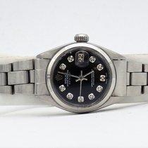 Rolex Lady-Datejust Acciaio 26mm Nero Senza numeri Italia, Aversa