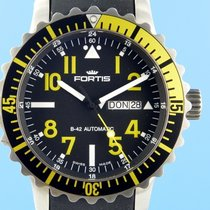 Fortis Steel 42mm Automatic 670.24.158 pre-owned