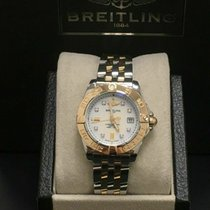 Breitling Steel Quartz Mother of pearl 32mm pre-owned Galactic
