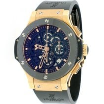 Hublot Big Bang Aero Bang pre-owned 44mm Chronograph Date Rubber