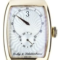 Dubey & Schaldenbrand Rose gold 33mm Manual winding DS/AJHO/RG/WHB/LS pre-owned