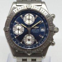 Breitling Chronomat Stahl 39mm Blau Keine Ziffern Deutschland, Freiburg-Gundelfingen