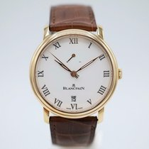 Blancpain Villeret new Manual winding Watch with original box and original papers 6613-3631-55B