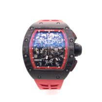 Richard Mille Carbon 50mm Automatic RM-011-FM pre-owned