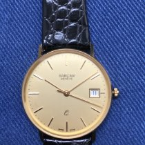 Sarcar Yellow gold 33mm Quartz pre-owned