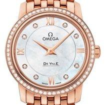Omega De Ville Prestige Oro rosa 27.4mm Madreperla