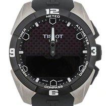 티쏘 T-터치 엑스퍼트 솔라 T091.420.47.051.00 신품 티타늄 45mm 쿼츠