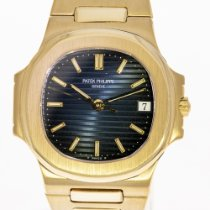 Patek Philippe 3800 Yellow gold 1992 Nautilus 37mm pre-owned