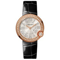 Cartier Ballon Blanc Rose gold 30mm Silver Roman numerals United States of America, California, Newport Beach