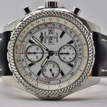 Breitling Bentley GT tweedehands 44,8mm Zilver Leer