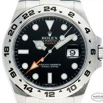 Rolex Explorer II 216570 Sehr gut Stahl 42mm Automatik