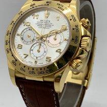 Rolex Daytona Zuto zlato 40mm Sedef-biserast Arapski brojevi