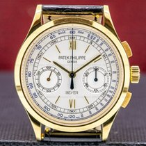 Patek Philippe Chronograph Yellow gold 39mm White Roman numerals United States of America, Massachusetts, Boston