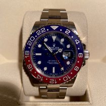 Rolex GMT-Master II White gold 40mm Blue No numerals UAE, Dubai