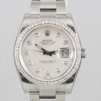 Rolex Datejust 36mm MOP Diamond Dial & Diamond Bezel NEW