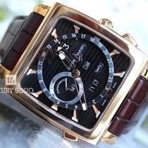 Ulysse Nardin Quadrato Dual Time Perpetual 326-90/92 new