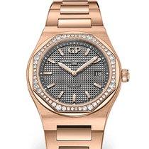 Girard Perregaux Laureato Rose gold 34mm Grey No numerals